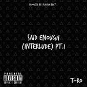 Said Enough (Interlude) Pt.1 von TRO