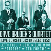 Live Concert Los Angeles 1953 by Dave Brubek's Quartet