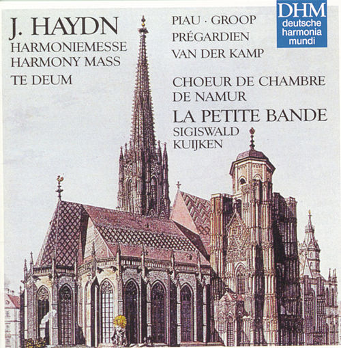 Haydn: Harmony Mass, Te Deum by La Petite Bande