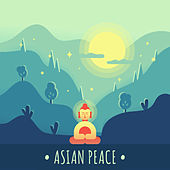 Asian Peace: Oriental Chill Out 2019, Relaxation Sounds, Zen by Chillout Lounge