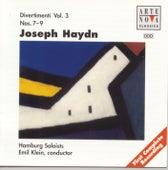Haydn: Divertimenti Vol. 3 by Emil Klein