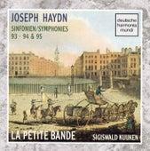 Haydn - Sym. 93, 94 & 95 von Sigiswald Kuijken