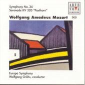 Mozart: Symphony No.34/Posthornserenade de Wolfgang Gröhs