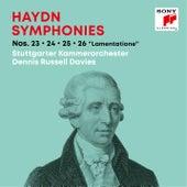 Haydn: Symphonies / Sinfonien Nos. 23, 24, 25, 26