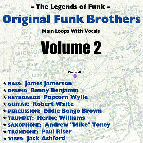 Original Funk Brothers Main Loops Volume 2 by The Funk Brothers