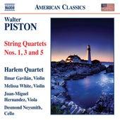 Piston: String Quartets Nos. 1, 3 & 5 by Harlem Quartet