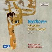 Beethoven: Complete Violin Sonatas Vol. 4 by Various Artists