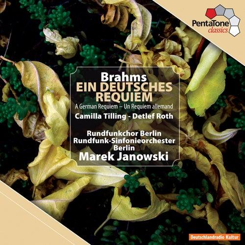 Brahms: Ein Deutsches Requiem by Marek Janowski