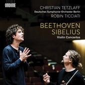Beethoven & Sibelius: Violin Concertos by Christian Tetzlaff