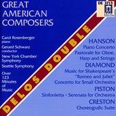 Orchestral Music (American) - Diamond, D. / Piston, W. / Hanson, H. / Creston, P. by Various Artists