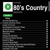 80's Country Gold Hits de Various Artists