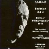 Brahms : Sinfonien No. 2 & No. 3 (1944) von Berliner Philharmoniker
