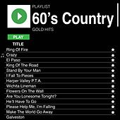 60's Country Gold Hits by Various Artists