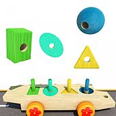 Learn Shapes with Train Toy by Awa