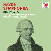 Haydn: Symphonies / Sinfonien Nos. 39, 40, 41 de Dennis Russell Davies