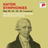 Haydn: Symphonies / Sinfonien Nos. 50, 51, 52, 53