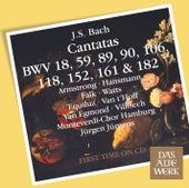 Bach, JS : Cantatas BWV 106, 182, 152, 118, 18, 89, 90, 161, 59 de Jürgen Jürgens
