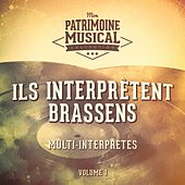 Ils interprètent Brassens, vol. 1 de Various Artists