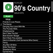 90's Country Gold Hits de Various Artists