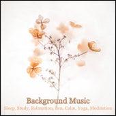 Background Music: Sleep, Study, Relaxation, Zen, Calm, Yoga, Meditation von Various Artists