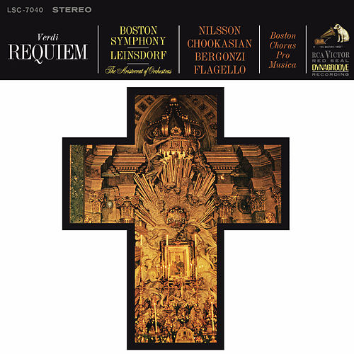 Verdi: Messa da Requiem; Menotti: The Death Of The Bishop Of Brindisi; Schönberg:  Gurrelieder by Erich Leinsdorf