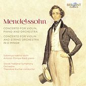 Mendelssohn: Concerto for Violin, Piano and Orchestra, Concerto for Violin and String Orchestra in D Minor de Slovak National Symphony Orchestra