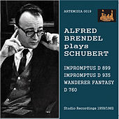Schubert: Impromptus & Wandererfantasie von Alfred Brendel