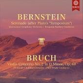 Bernstein: Serenade / Bruch: Violin Concerto (Live) de Various Artists