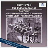 Beethoven: Piano Concertos Nos.1-5; Symphony No. 2, Op. 36; Fantasy For Piano, Chorus And Orchestra, Op. 80; Choral Fantasy (two altern. improv. piano introd.); Rondo For Piano And Orchestra WoO6 de Robert Levin