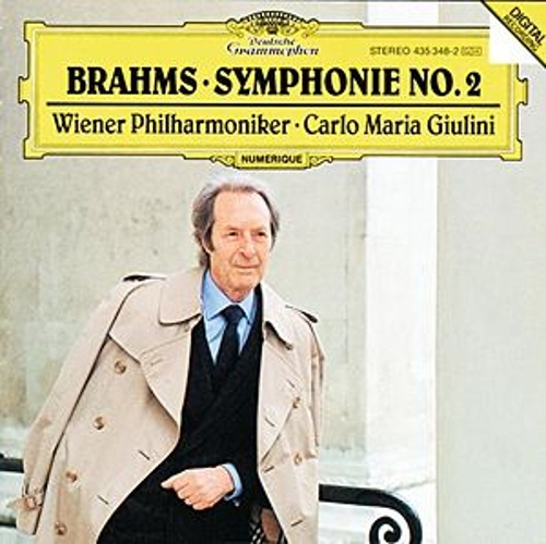 Brahms: Symphony No.2 In D Major, Op. 73 by Wiener Philharmoniker