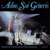 Adios Sui Generis Vol. II de Sui Generis