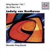 Beethoven: String Quartets Vol.1 by Alexander String Quartet