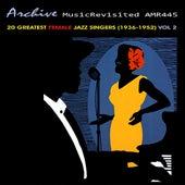 20 Greatest Female Jazz Vocalists 1936-1952, Vol. 2 van Various Artists