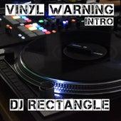 Vinyl Warning Intro de DJ Rectangle