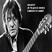 Memory-20 years of songs ((cover)) di Fabrizio De André