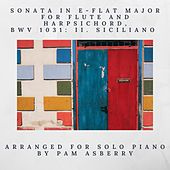 Sonata in E-Flat Major for Flute and Harpsichord, BWV 1031: II. Siciliano (Arr. for Solo Piano) de Pam Asberry