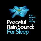 Peaceful Rain Sound: For Sleep by Rain Sounds XLE Library