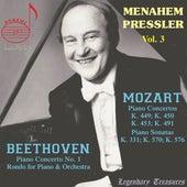 Manahem Pressler, Vol. 3: Mozart, Beethoven von Menahem Pressler