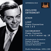 Philippe Entremont Plays Liszt Piano Concertos Nos. 1 & 2 and Rachmaninov Concerto No. 2 in C Minor Op. 18 by Philippe Entremont