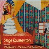 Koussevitzky Conducts Prokofiev, Shostakovich, and Tchaikovsky de Serge Koussevitzky