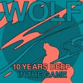 Wolf 10 Years Deep in the Game de Eddie C, Fantastic Man, Medlar, KRL, Squarehead, Mella Dee, Frits Wentink, James Welsh, Red Rack'em, Greymatter, Ron Basejam, Thrilogy, Laszlo Dancehall, Moomin, Labat