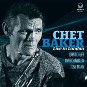 Live in London de Chet Baker