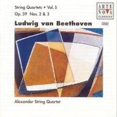 Beethoven: String Quartets Vol. 5 by Alexander String Quartet
