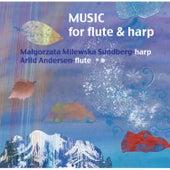 Music for flute & harp de Małgorzata Milewska Sundberg