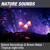 Nature Recordings & Brown Noise - Tropical night time by Nature Sounds (1)