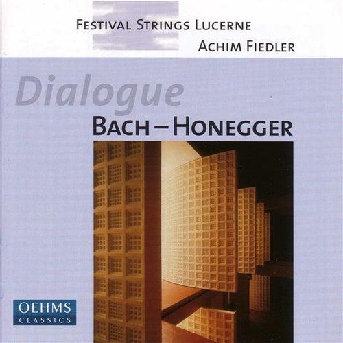 Bach: The Art of Fugue  (Arr. for String Orchestra) / Honegger: Prelude, Arioso Et Fughette Sur Le Nom De Bach (Arr. for String Orchestra) by Achim Fiedler