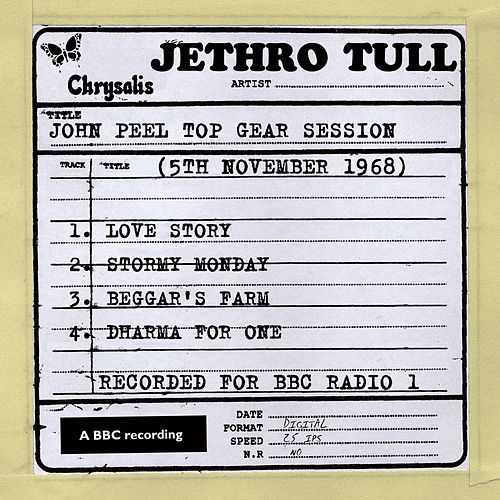 John Peel Top Gear Session (5th November 1968) by Jethro Tull