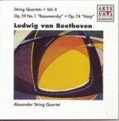 Beethoven: String Quartets Vol. 4 by Alexander String Quartet