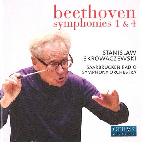 Beethoven, L. van: Symphonies Nos. 1 and 4 by Stanislaw Skrowaczewski