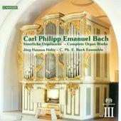 Bach, C.P.E.: Organ Music (Complete), Vol. 3 von Jorg-Hannes Hahn